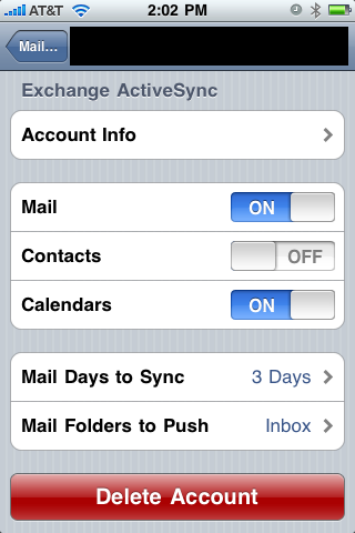 setup exchange account on iphone how to synchronize an exchange and calendar to the 18005